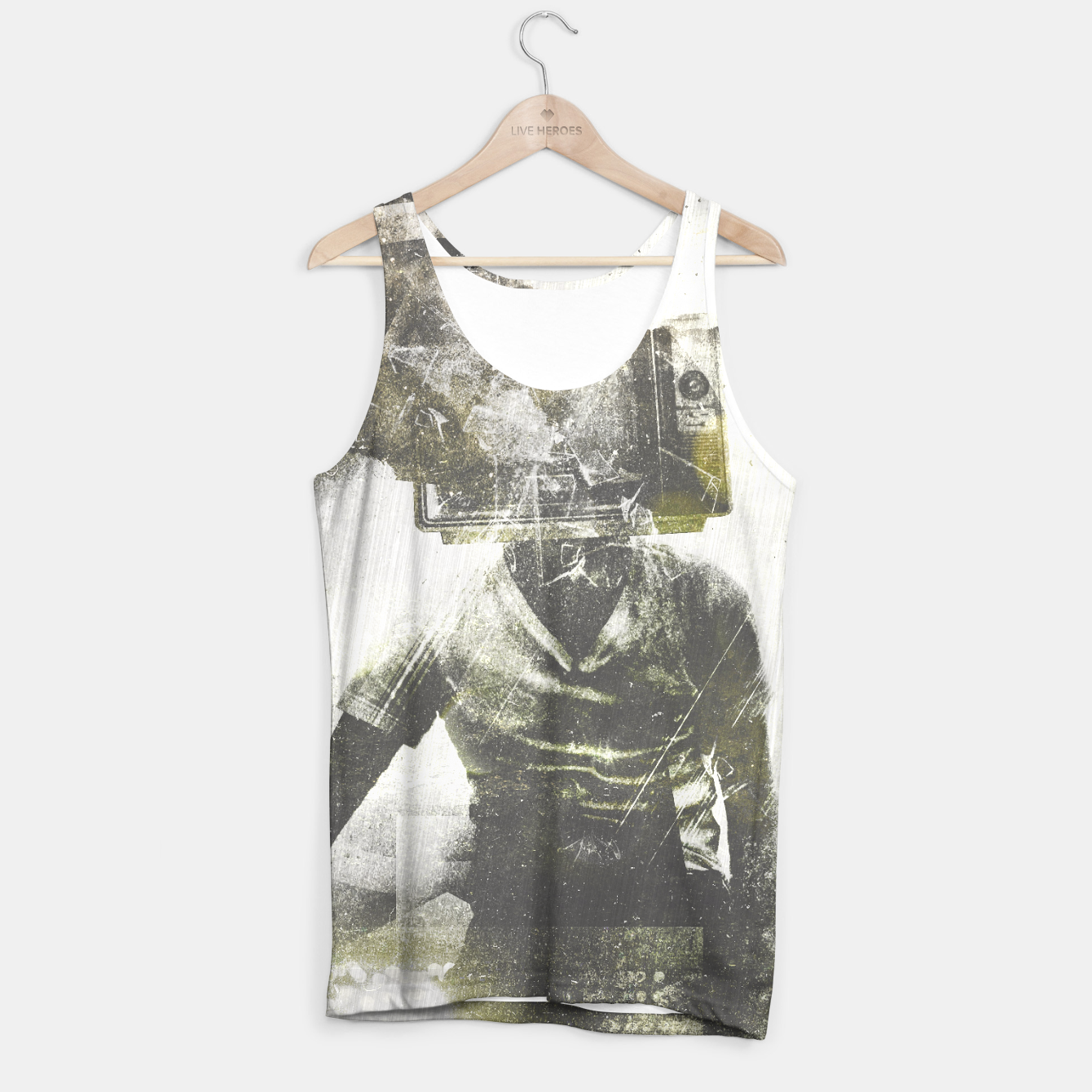 Image of Free your mind Tank Top - Live Heroes