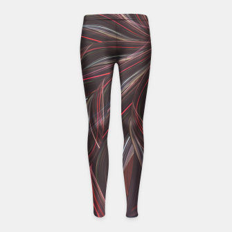Miniature de image de Spirit of the sun Girl's Leggings, Live Heroes