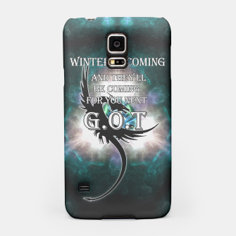 Thumbnail image of Winter Is Coming - Dragons Lair Samsung Case, Live Heroes