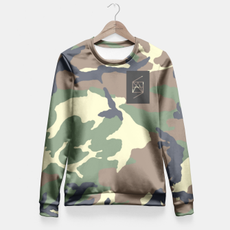 Thumbnail image of HANScamo  Fitted Waist Sweater, Live Heroes