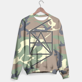 Thumbnail image of HANScamo1 Sweater, Live Heroes