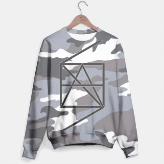 Thumbnail image of HANScamo grey Sweater, Live Heroes
