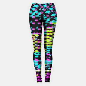 Thumbnail image of NES Protocol: MORE GREEN AND PURPLE Leggings, Live Heroes