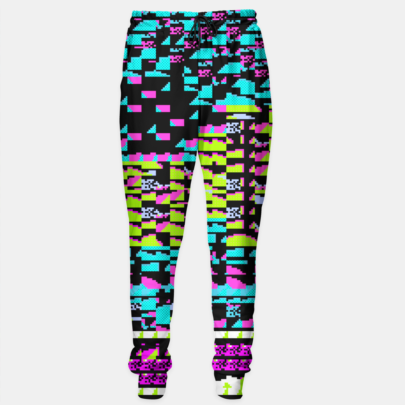 Image of NES Protocol: MORE GREEN AND PURPLE Sweatpants - Live Heroes