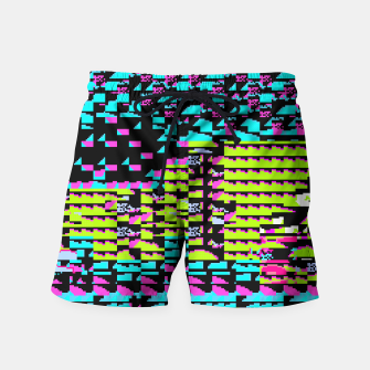 Thumbnail image of NES Protocol: MORE GREEN AND PURPLE Swim Shorts, Live Heroes