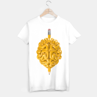 Thumbnail image of Pencil Brain T-shirt, Live Heroes