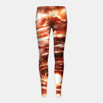 Thumbnail image of The Visitor Girl's Leggings, Live Heroes