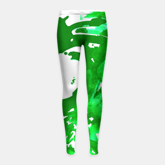 Thumbnail image of Money For Your Water, Environmental Concerns Girl's Leggings, Live Heroes