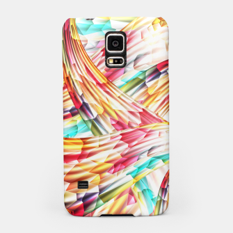 Miniatur Abstract Multicolor Design Samsung Case, Live Heroes