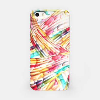 Miniatur Abstract Multicolor Design iPhone Case, Live Heroes