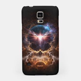 Thumbnail image of Fire Wings Fractal Art Samsung Case, Live Heroes