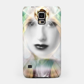 Thumbnail image of Radiance - Goddess Of The Clouds Of Chaos Samsung Case, Live Heroes