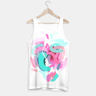 Thumbnail image of Rhythmic Contraction Tank Top, Live Heroes