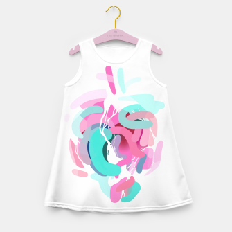 Thumbnail image of Rhythmic Contraction Girl's Summer Dress, Live Heroes