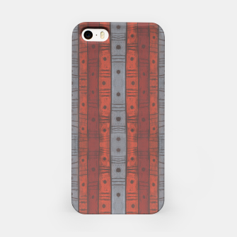 Thumbnail image of Stripes and dots iPhone Case, Live Heroes