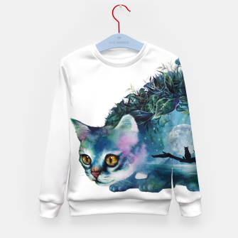 Thumbnail image of cat Kid's Sweater, Live Heroes
