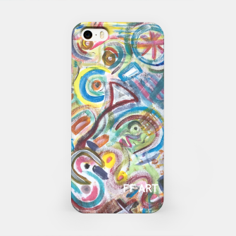 Thumbnail image of Abstract Art Design  iPhone Case, Live Heroes