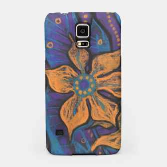 """Thumbnail image of """"Golden flowers"""" Samsung Case, Live Heroes"""