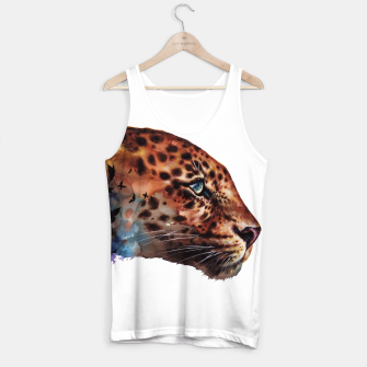 Thumbnail image of leopard Tank Top, Live Heroes