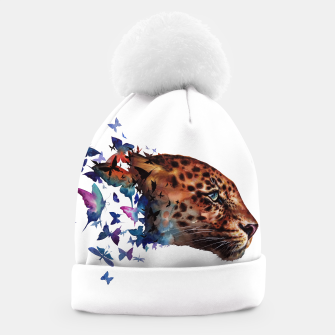 Thumbnail image of leopard Beanie, Live Heroes