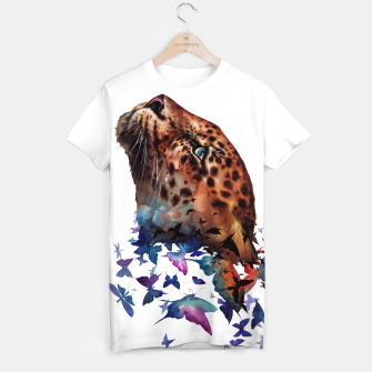 Thumbnail image of leopard T-shirt, Live Heroes