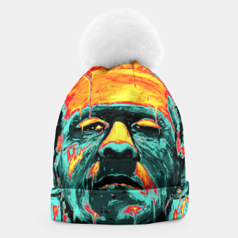 Thumbnail image of Frankenstein Beanie, Live Heroes