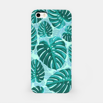 Thumbnail image of Tropical Leaf Monstera Plant Pattern iPhone Case, Live Heroes