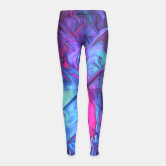 Thumbnail image of Gnarly One Girl's Leggings, Live Heroes