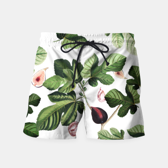 Thumbnail image of Figs white Swim Shorts, Live Heroes