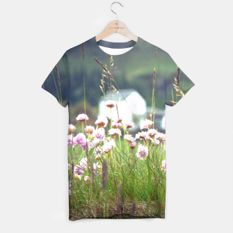 Thumbnail image of Purple Clover Wild Flowers  T-shirt, Live Heroes