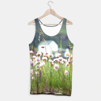 Thumbnail image of Purple Clover Wild Flowers  Tank Top, Live Heroes