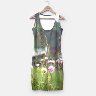 Thumbnail image of Purple Clover Wild Flowers  Simple Dress, Live Heroes