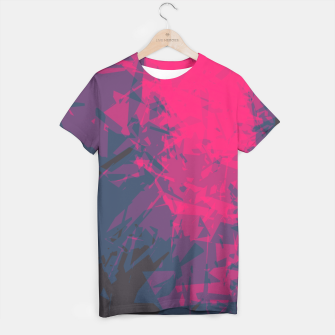 Thumbnail image of Shattered Purple T-shirt, Live Heroes