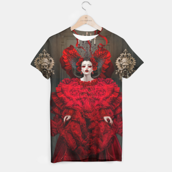 Miniatur red queen shirt, Live Heroes