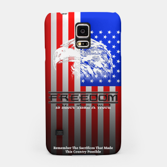 Thumbnail image of Freedom Is More Than A Word Samsung Case, Live Heroes