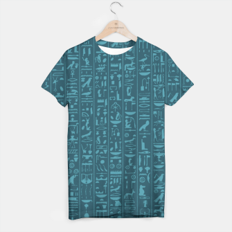 Thumbnail image of Hieroglyphics Moonstone BLUE T-shirt, Live Heroes