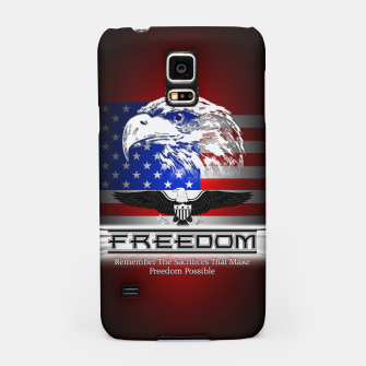 Thumbnail image of Freedom Remember The Sacrifice Samsung Case, Live Heroes