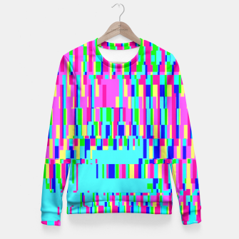 Thumbnail image of Scan this! Fitted Waist Sweater, Live Heroes