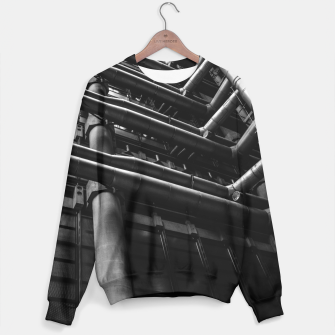 Thumbnail image of Industrial Pipes Sweater, Live Heroes