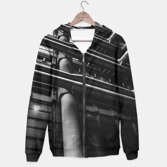 Thumbnail image of Industrial Pipes Hoodie, Live Heroes