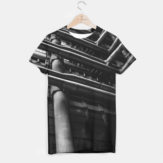 Thumbnail image of Industrial Pipes T-shirt, Live Heroes