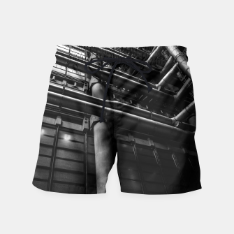 Thumbnail image of Industrial Pipes Swim Shorts, Live Heroes