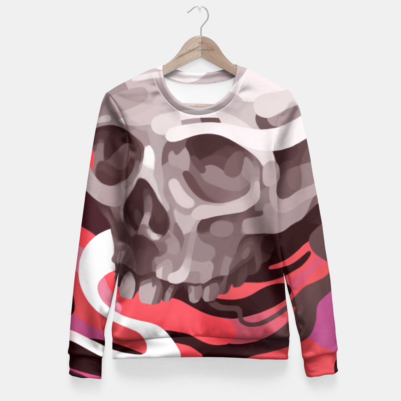 Image of Dazed Fitted Waist Sweater - Live Heroes