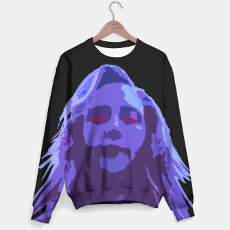 Thumbnail image of The Monster Inside Goth Pop Art Sweater, Live Heroes