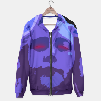 Thumbnail image of The Monster Inside Goth Pop Art Hoodie, Live Heroes