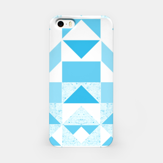 Thumbnail image of Pastel Blue geometric iPhone Case, Live Heroes