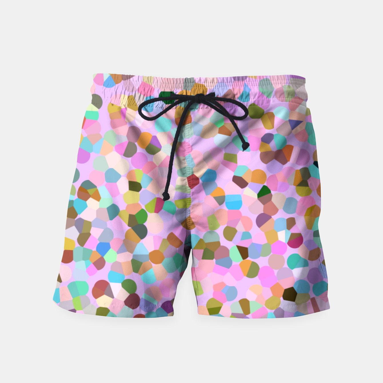 Image of fancy candy confeti Swim Shorts - Live Heroes
