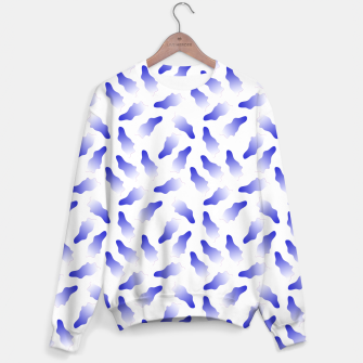 Thumbnail image of Postmodern Indigo  Sweater, Live Heroes