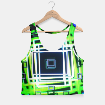Thumbnail image of Optical Feedback is Fun™ v1 Crop Top, Live Heroes