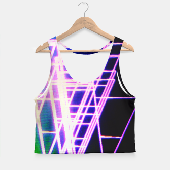 Thumbnail image of Mother. Fucking. Triangles. Crop Top, Live Heroes
